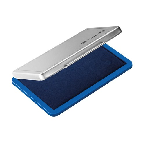 Stempelkissen 2 7x11cm blau Metall Pelikan 331017 Produktbild Additional View 1 L