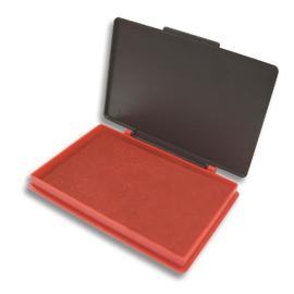 Stempelkissen Größe 2 7x11cm rot Kunststoff BestStandard SF71573 Produktbild