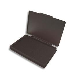 Stempelkissen Größe 2 7x11cm schwarz Kunststoff BestStandard SF71575 Produktbild