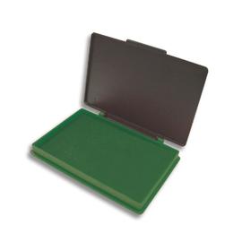 Stempelkissen Größe 2 7x11cm grün Kunststoff BestStandard SF71571 Produktbild