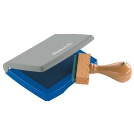 Stempelkissen 3E 5x7cm blau Kunststoff Pelikan 337741 Produktbild