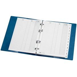 Ersatzeinlagen für Telefonringbuch A5 Karton Veloflex 5359000 Produktbild