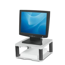 Monitor Ständer Premium 338x165x340mm Platin Plastik Fellowes 91717 Produktbild