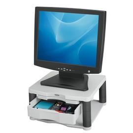 Monitor Ständer Plus Premium 330x165x332mm Platin Plastik Fellowes 91713 Produktbild
