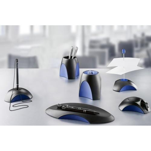 Zettelspießer mit Schutzkappe Delta 116x103x158mm schwarz-blau HAN 1754-34 Produktbild Additional View 1 L