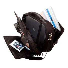 Laptoptasche ARCO 40,5x33x16cm schwarz Polyester Lightpak 46010 Produktbild