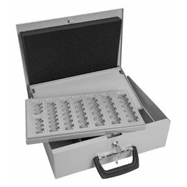 Geldkassette Universal Zählbrett für 225,70€ und Schacht 355x275x100mm lichtgrau Stahlblech Wedo 150100837 Produktbild