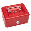 Geldkassette Gr. 1 mit Kunststoffeinsatz 152x115x80mm rot Stahl Wedo 145102H Produktbild