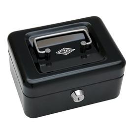 Geldkassette Gr. 1 mit Kunststoffeinsatz 152x115x80mm schwarz Stahl Wedo 145121H Produktbild