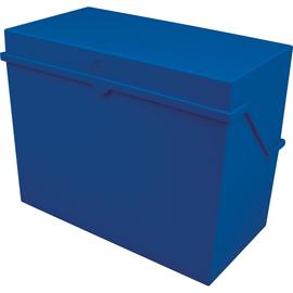 Kleinkartei A5 228x110x170mm für 500Karten blau Kunststoff Helit H6214534 Produktbild
