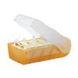 Karteibox Croco inkl. 5 Stützplatten und 100 Karten A8 97x191x67mm für 500Karten orange Kunststoff HAN 998-613 Produktbild