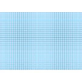 Karteikarten A5 kariert blau holzfrei RNK 11485 (PACK=100 STÜCK) Produktbild