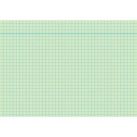 Karteikarten A5 kariert grün holzfrei RNK 11485 (PACK=100 STÜCK) Produktbild