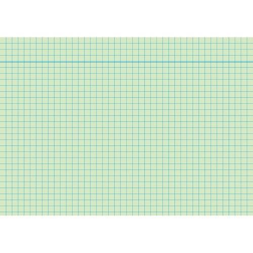 Karteikarten A6 kariert grün holzfrei RNK 11486 (PACK=100 STÜCK) Produktbild Front View L