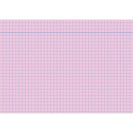 Karteikarten A6 kariert rosa holzfrei RNK 11486 (PACK=100 STÜCK) Produktbild