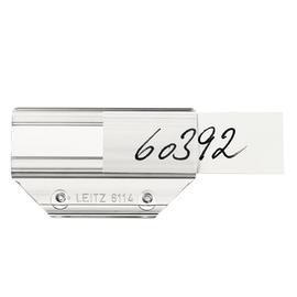 Vollsichtreiter für Hängemappen 60x33mm transparent PVC Leitz 6114-00-00 (PACK=50 STÜCK) Produktbild