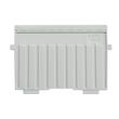 Stützplatte A6 quer lichtgrau Kunststoff HAN 9026-11 Produktbild
