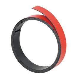 Magnetband 1m x 10mm rot beschriftbar Franken M802 01 Produktbild