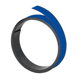 Magnetband 1m x 10mm dunkelblau beschriftbar Franken M802 03 Produktbild
