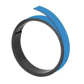Magnetband 1m x 10mm hellblau beschriftbar Franken M802 18 Produktbild