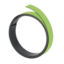 Magnetband 1m x 10mm hellgrün beschriftbar Franken M802 19 Produktbild