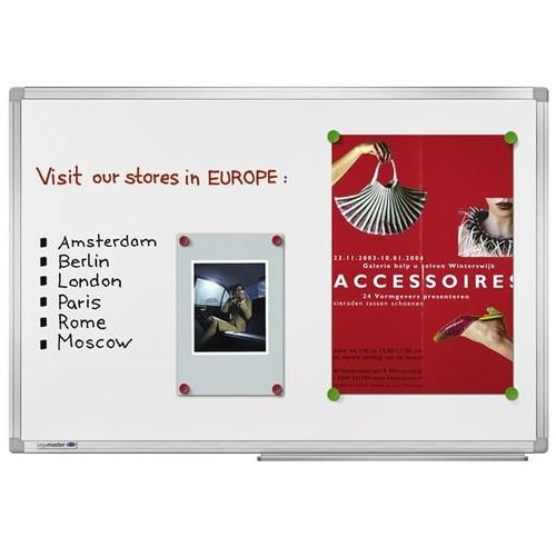 Whiteboard UNIVERSAL Plus 60x90cm weiß magnetisch Legamaster 7-102143 Produktbild Additional View 2 L