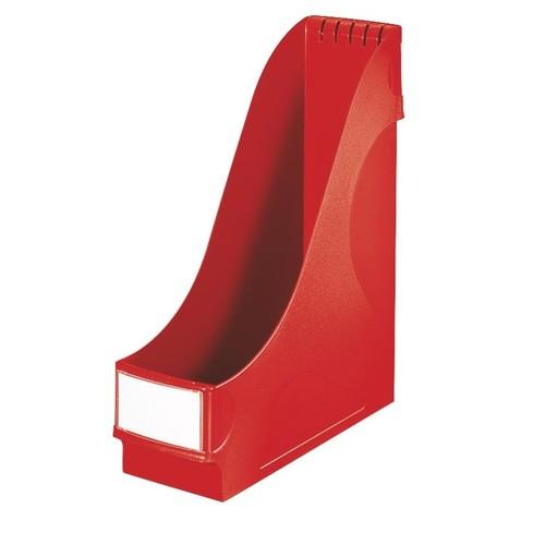 Stehsammler extrabreit 95x320x290mm rot Kunststoff Leitz 2425-00-25 Produktbild Front View L