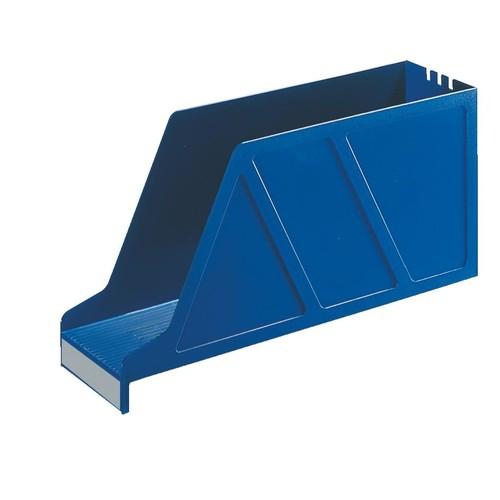 Stehsammler Standard quer 97x156x336mm blau Kunststoff Leitz 2427-00-35 Produktbild Front View L