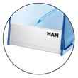 Stehsammler TWIN 76x257x239mm blau transparent kunststoff HAN 1611-64 Produktbild Additional View 3 S