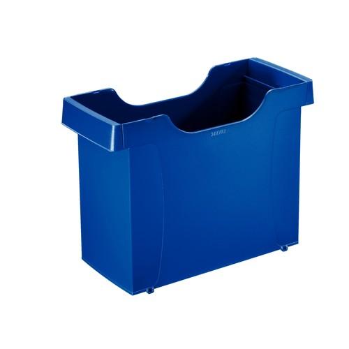 Uni-Box Plus 395x273x170mm für 20 Hängemappen blau Leitz 1908-00-35 Produktbild Front View L