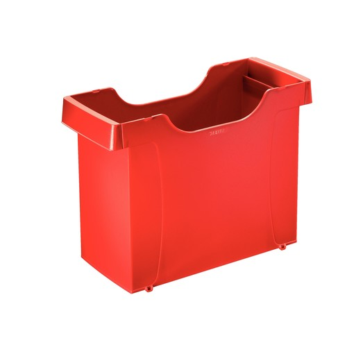 Uni-Box Plus 395x273x170mm für 20 Hängemappen rot Leitz 1908-00-25 Produktbild Front View L