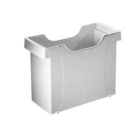 Uni-Box Plus 395x273x170mm für 20 Hängemappen grau Leitz 1908-00-85 Produktbild