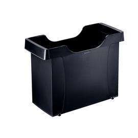 Uni-Box Plus 395x273x170mm für 20 Hängemappen schwarz Leitz 1908-00-95 Produktbild