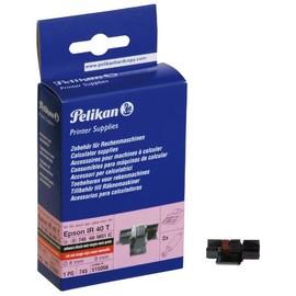 Farbrollen Gr. 745/2 schwarz/rot 8mm x 9mm Pelikan 515056 (PACK=2 STÜCK) Produktbild