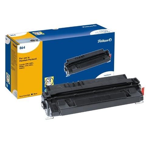 Toner Gr. 864 (C4129X) für LaserJet 5000/DN/GN/N/5100/TN/DTN/LE /SE 10000Seiten schwarz Pelikan 621122 Produktbild Front View L