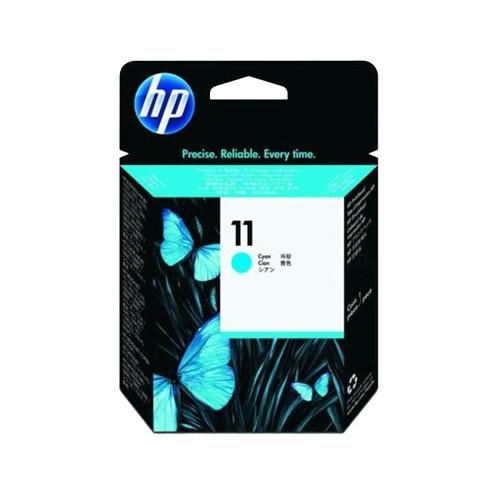 Druckkopfpatrone 11 für HP Business InkJet 2200/2300 8ml cyan HP C4811A Produktbild Front View L