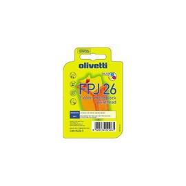 Tintenpatrone FPJ26 für Olivetti JP15W/170/190 9ml farbig Olivetti 84436 Produktbild
