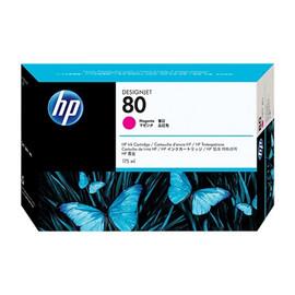 Tintenpatrone 80 für HP DesignJet 1000 175ml magenta HP C4874A Produktbild