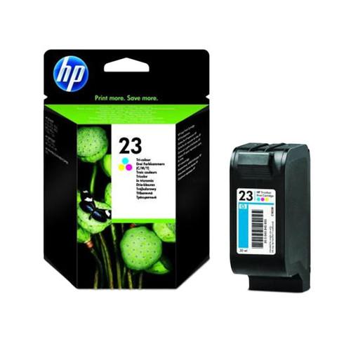 Tintenpatrone 23 für HP DeskJet 890C/895CXI 30ml farbig HP C1823D Produktbild Front View L