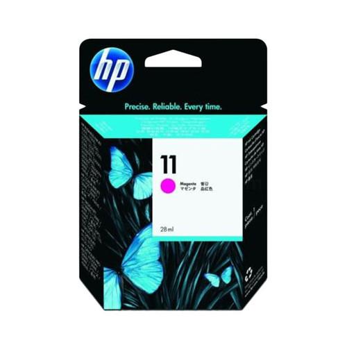 Tintenpatrone 11 für HP Business InkJet 2200/2300 28ml magenta HP C4837A Produktbild Front View L