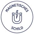 Magnet-Schild Inkjet 78x28mm auf A4 Bögen weiß wiederablösbar Zweckform J8871-5 (PACK=90 STÜCK) Produktbild Additional View 3 S