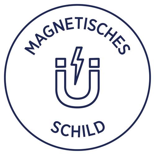 Magnet-Schild Inkjet 78x28mm auf A4 Bögen weiß wiederablösbar Zweckform J8871-5 (PACK=90 STÜCK) Produktbild Additional View 3 L
