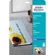 Folie Inkjet A4 170µ transparent selbstklebend Zweckform 2500 (PACK=10 STÜCK) Produktbild