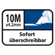 Korrekturroller Pocket Mouse Einweg 4,2mm x 10m Tipp-Ex 8221362 (ST=10 METER) Produktbild Additional View 7 S