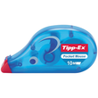 Korrekturroller Pocket Mouse Einweg 4,2mm x 10m Tipp-Ex 8221362 (ST=10 METER) Produktbild