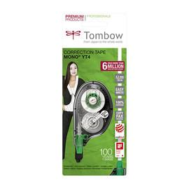 Korrekturroller Einweg 4,2mm x 10m grau/grün Tombow CT-YT4 -Blister- Produktbild