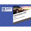 Fahrtenbuch für Pkw A6 quer 40Blatt geheftet Zweckform 222 Produktbild Additional View 2 S