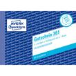 Gutscheinbuch A6 quer 2x50Blatt mit Blaupapier Zweckform 361 Produktbild Additional View 1 S