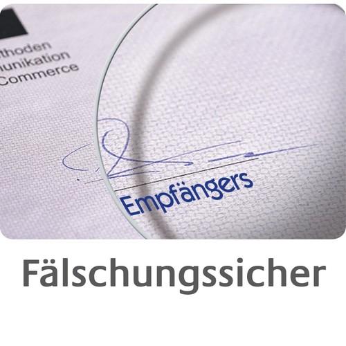 Gutscheinbuch A6 quer 2x50Blatt mit Blaupapier Zweckform 361 Produktbild Additional View 5 L
