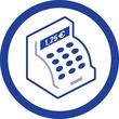 Gutscheinbuch A6 quer 2x50Blatt mit Blaupapier Zweckform 361 Produktbild Back View S